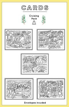 Anna in Alaska Art Cards