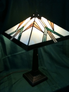 Translucent Treasures - Stained Glass Lamp
