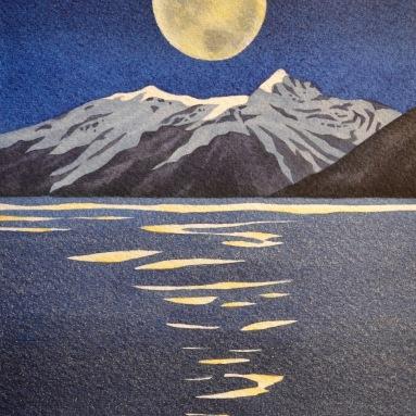 Mt. Harding Moonlight